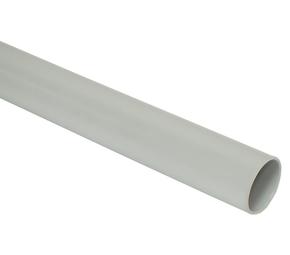 ДКС Труба ПВХ жёсткая гладкая д.20мм, лёгкая, 3м, цвет серый