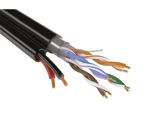 SyncWire UTP 4PR 24AWG CAT5e+2х0.75 Outdoor Кабель