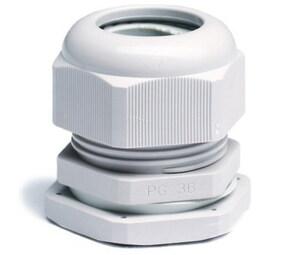 ДКС Зажим кабельный с контргайкой, IP68, PG9, д.4-8мм