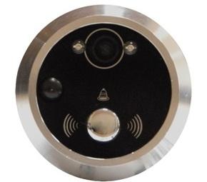 Кольцо для видеодомофона Optimus DB-01 [серебро]